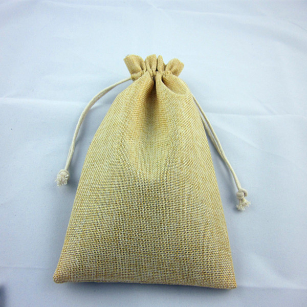 Durable classical eco jute bag for packing wheat
