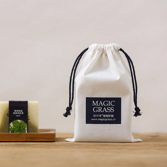Drawstring Soap Pouch